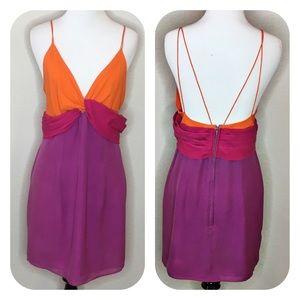 A.J Bari Silk Vintage Dress Size: 10